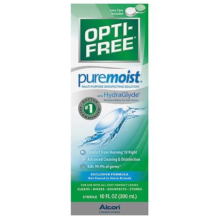 Opti-Free PureMoist Disinfecting Solution - 10 fl oz