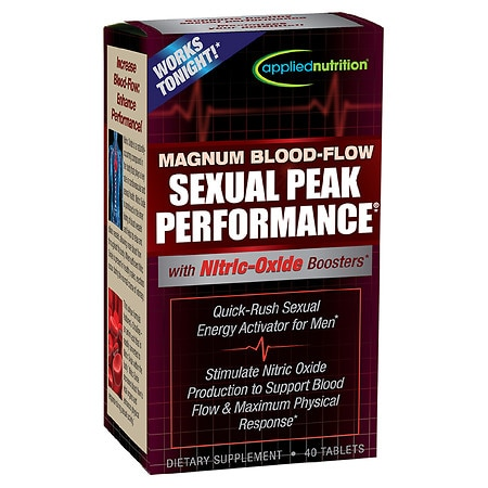 Applied Nutrition Magnum Blood-Flow Sexual Peak Performance Dietary Supplement Tablets