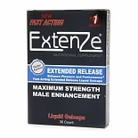 Extenze Maximum Strength Male Enhancement Nutritional Supplement Liquid Gelcaps