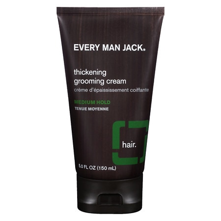 Every Man Jack Thickening Grooming Cream, Medium Hold
