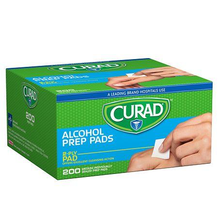 Curad Alcohol Swabs - 200 ea