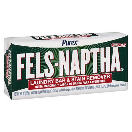 Fels-naptha Heavy Duty Laundry Bar Soap 5.5 Oz.