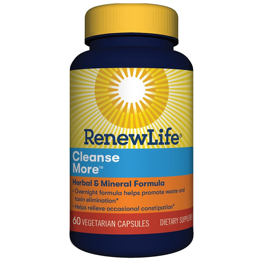 Cleanse walgreens renew life cleanse more dietary supplement capsules malvernweather