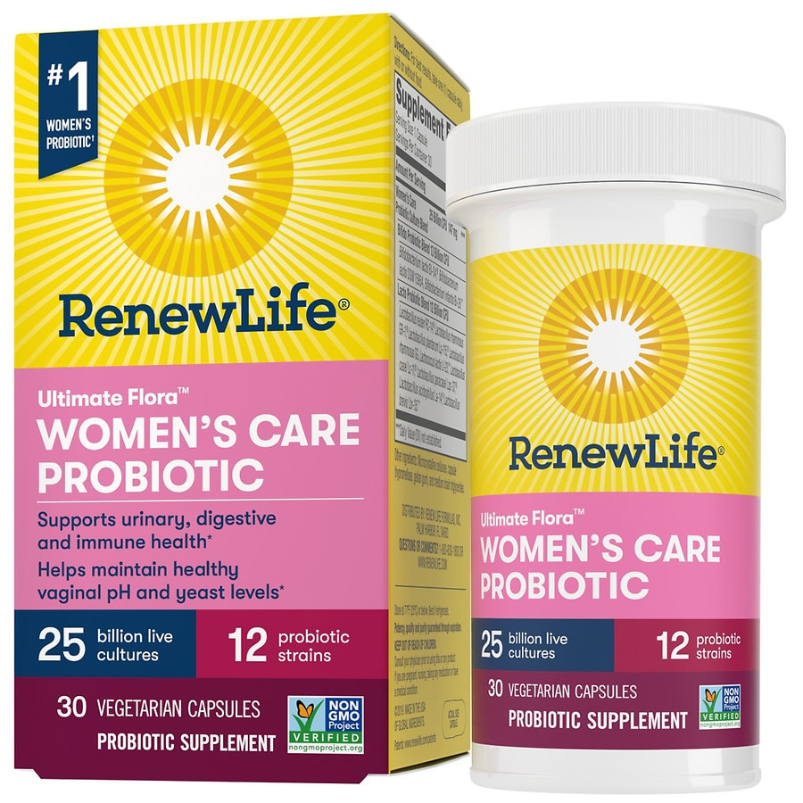 ReNew Life Ultimate Flora Women39;s Care Probiotic Veggie Capsules