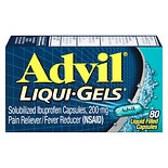Advil Liqui-Gels Ibuprofen Pain Reliever & Fever Reducer Capsules