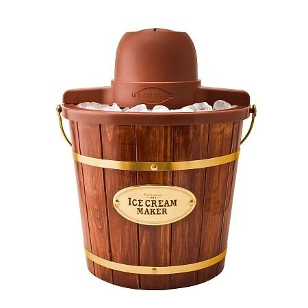 Nostalgia Electrics ICMW-400 4-Quart Wooden Bucket Electric Ice Cream Maker - 1.0 ea