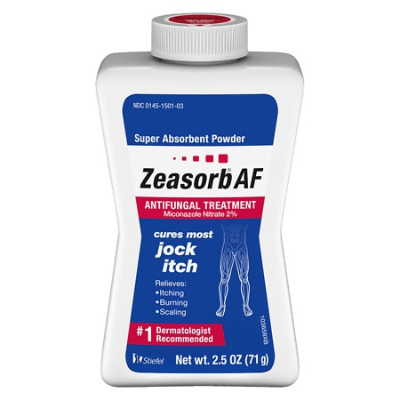 Zeasorb Super Absorbent Antifungal Treatment Powder for Jock Itch