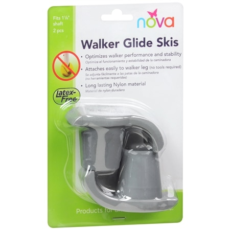 Nova Walking Ski Glide - 1 ea
