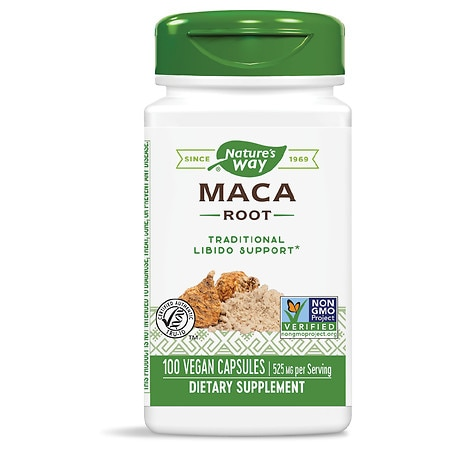 Nature's Way Maca Root, 525mg Capsules