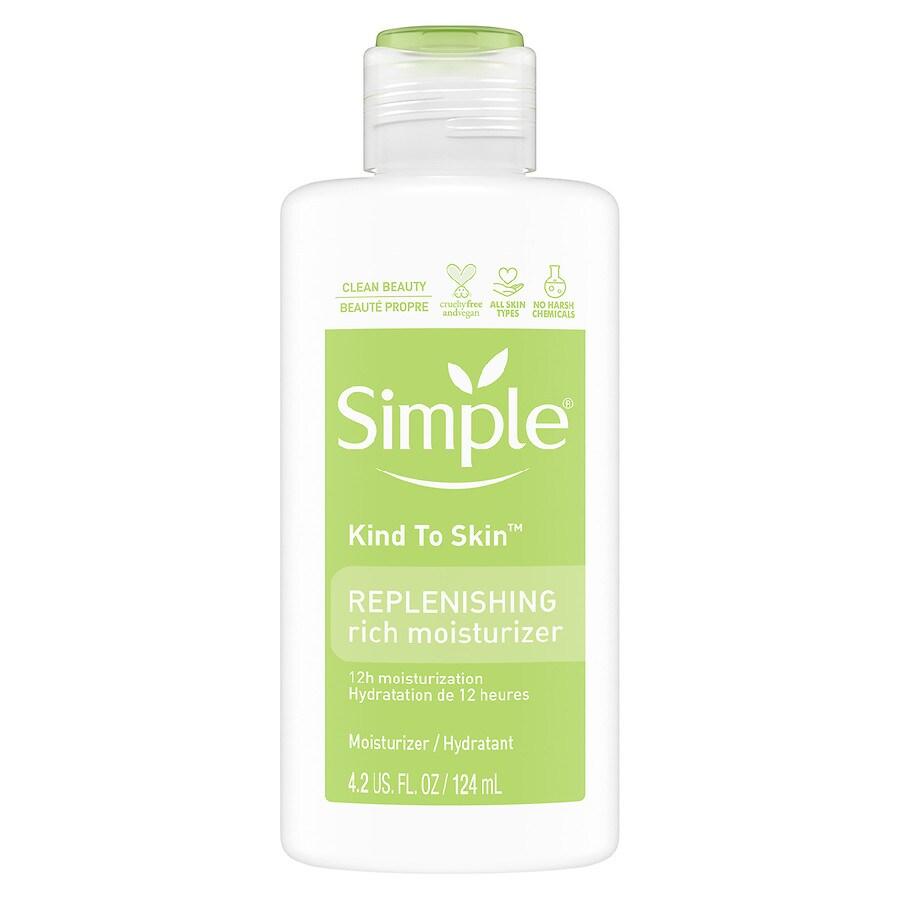 Simple Face Moisturizer Replenishing Rich Walgreens