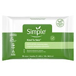 Simple Facial Wipes Exfoliating
