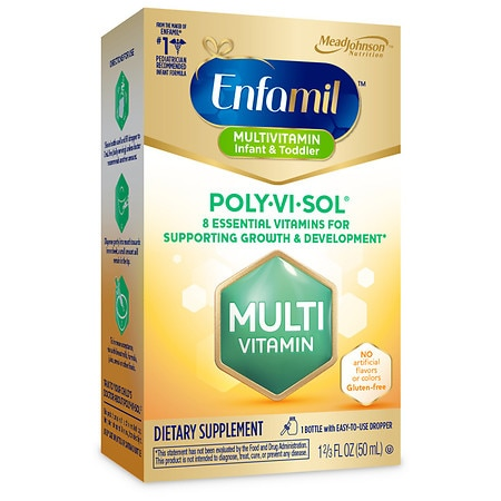 Enfamil Poly-Vi-Sol Multivitamin Supplement Drops - 1.66 fl oz