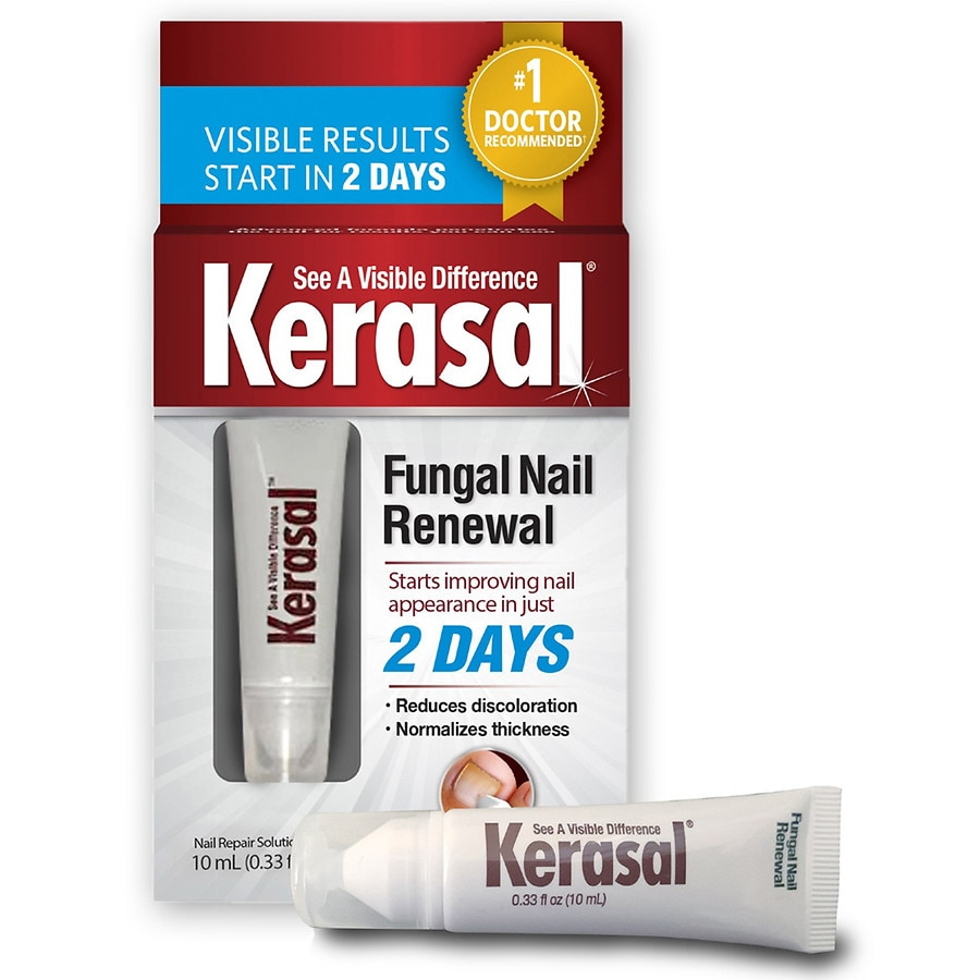 Kerasal Nail Fungal Nail Renewal Treatment 3 Month Supply Walgreens