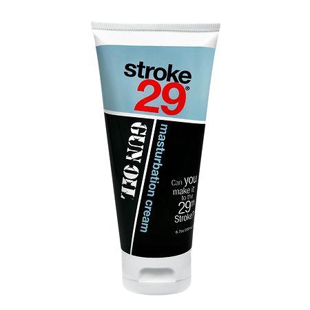 Image of Gun Oil Stroke 29 Masturbation Cream - 6.7 fl oz