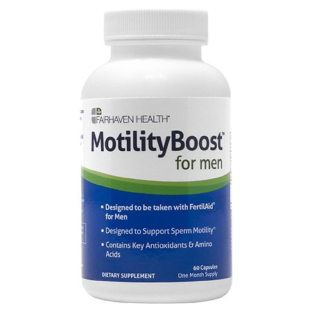 Fairhaven Health MotilityBoost for Men Dietary Supplement Capsules - 60 ea