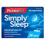 Simply Sleep Nighttime Sleep Aid 25 mg