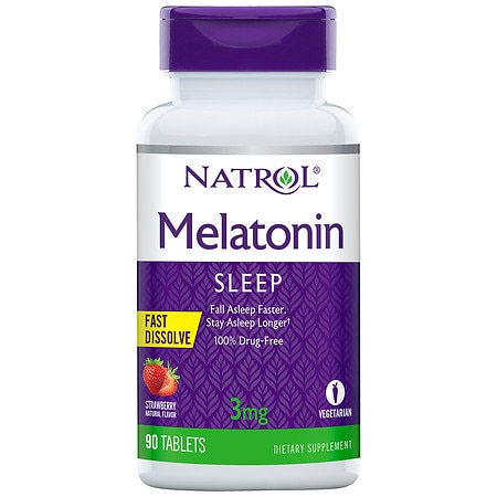 Natrol Melatonin 3mg Fast Dissolve, Tablets