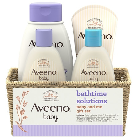 Aveeno Baby Daily Bathtime Solutions Gift Set - 1 ea
