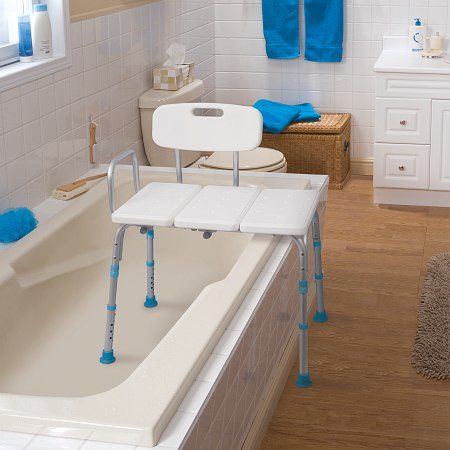 Aquasense Adjustable Bath And Shower Transfer Bench With