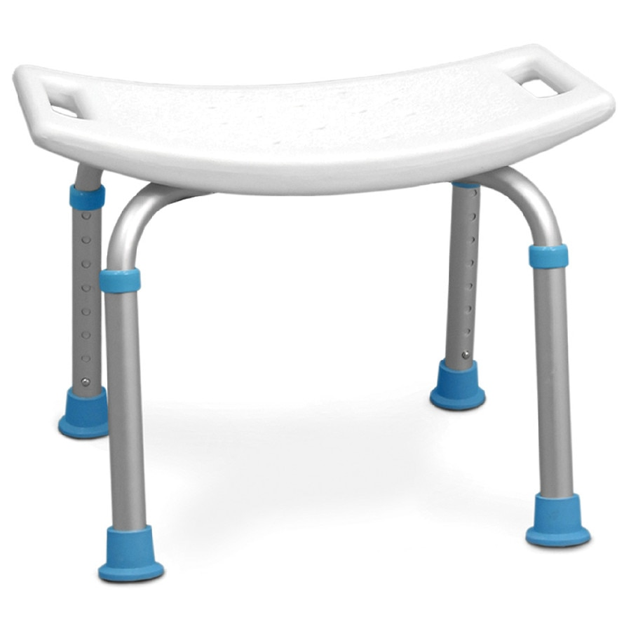 Fabulous Aquasense Adjustable Bath And Shower Chair With Non Slip Seat White Spiritservingveterans Wood Chair Design Ideas Spiritservingveteransorg