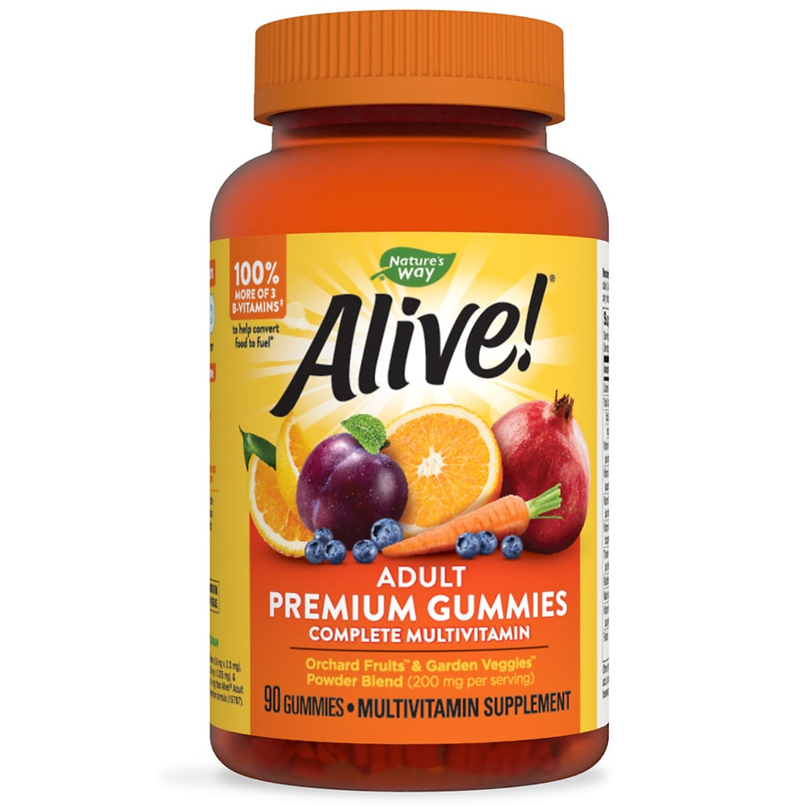 Alive vitamins gummies