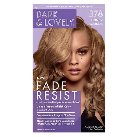 dark and lovely fade resistant rich conditioning hair color 378 honey blonde - Honey Blonde Hair Colors