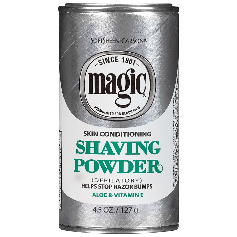 Magic Shave Shaving Powder Depilatory Skin Conditioning Walgreens