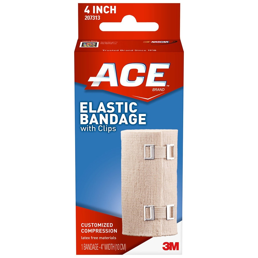 Ace Elastic Bandage With Clips Model 207313 Walgreens