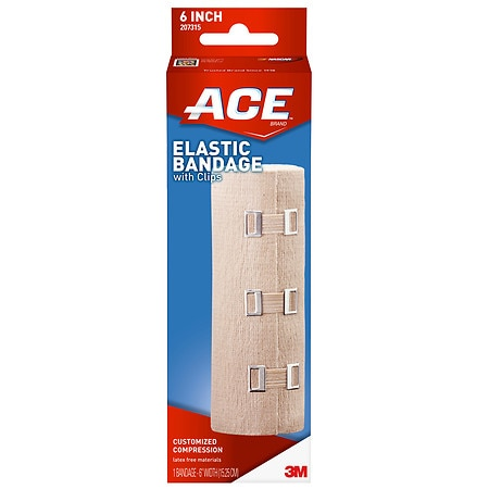 Ace Elastic Bandage with Clips, Model 207315