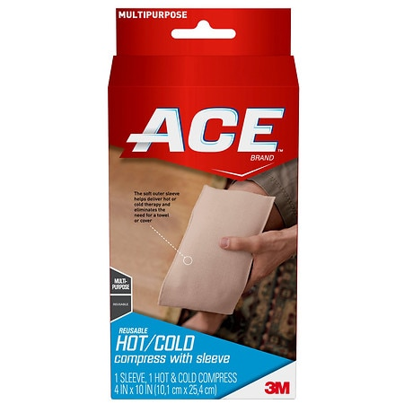 Ace I.C.E./Heat Compress Wrap, Model 207518 - 1 ea