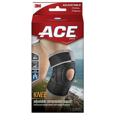 Ace Knee Support, Model 207247 - 1 ea