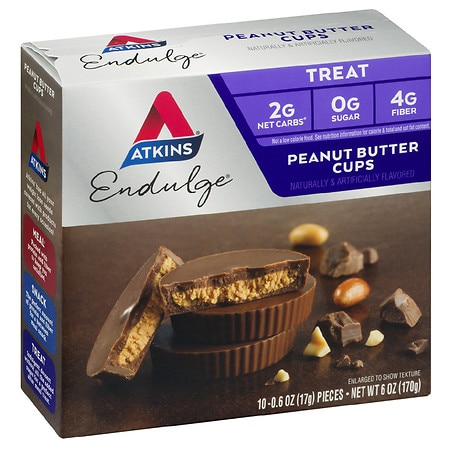 Image of Atkins Endulge Treats Peanut Butter Cups - 0.6 oz x 10 pack