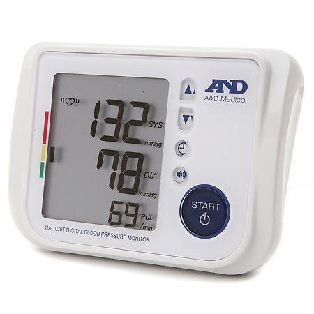 LifeSource Talking Blood Pressure Monitor, Model UA-1030T Cuff Size: Medium - 1.0 ea