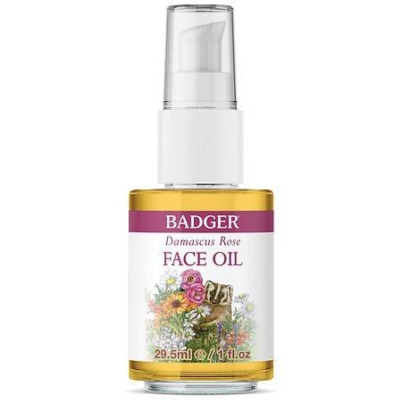Badger Face Oil Damascus Rose - 1.0 fl oz