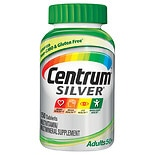 Centrum Silver Adult Complete Multivitamin  &  Multimineral Supplement Tablet, Age 50 plus