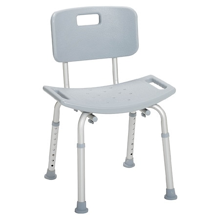 Drive Medical Bathroom Safety Shower Tub Bench Chair With Back Walgreens