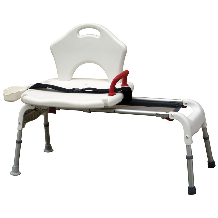 Drive Medical Folding Universal Sliding Transfer Bench | Walgreens