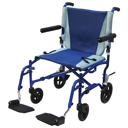 Drive Medical TranSport Aluminum Transport Wheelchair