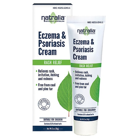 Natralia Eczema & Psoriasis Cream - 2 oz.