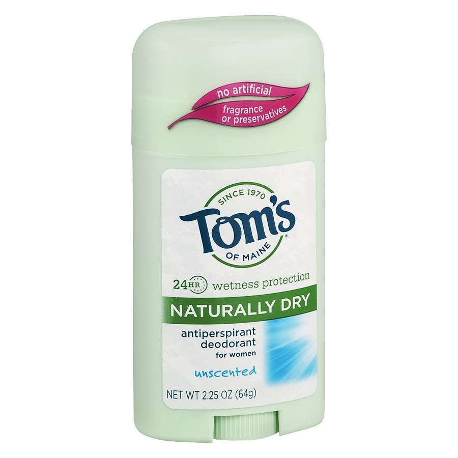 Tom S Of Maine Unscented Naturally Dry Antiperspirant Unscented