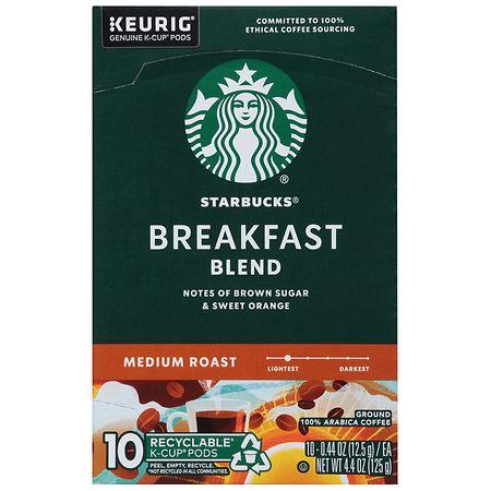 starbucks kcups breakfast blend - Starbucks Keurig Cups