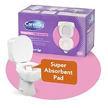 CareBag Toilet Bowl Liner with Super Absorbent Pad