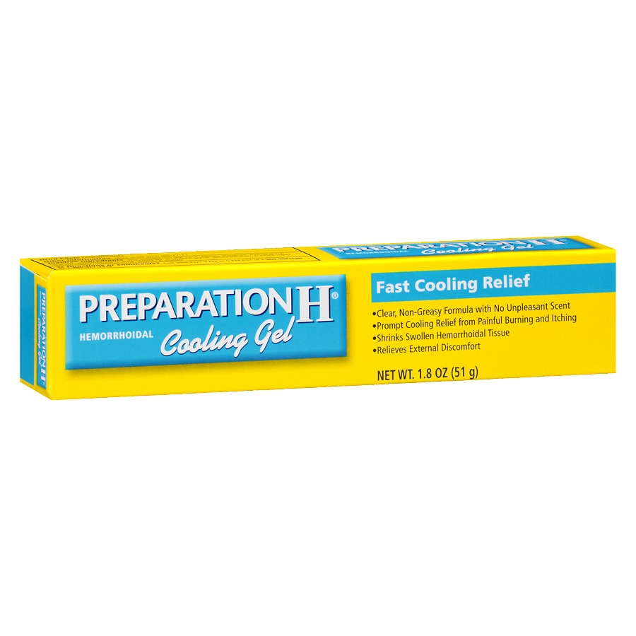Preparation H Hemorrhoidal Cooling Gel Walgreens