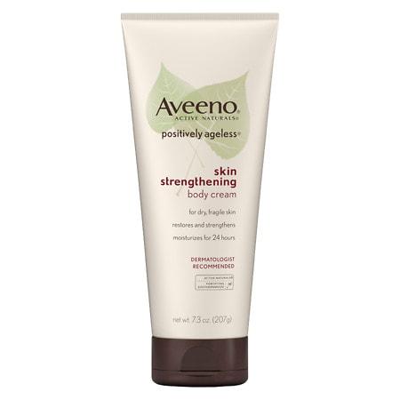 Aveeno Active Naturals Positively Ageless Skin Strengthening Body Cream - 7.3 oz.