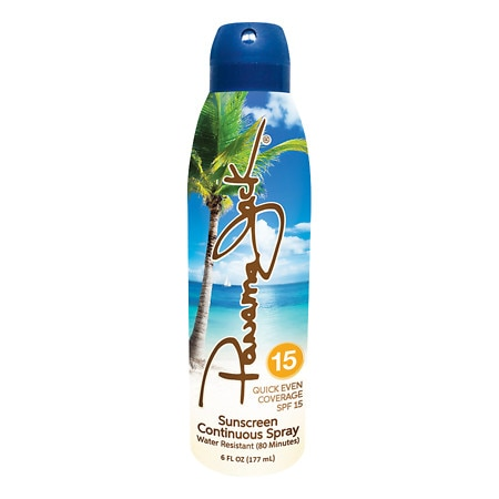 Panama Jack Continuous Clear Sunscreen Spray SPF 15 - 6 fl oz