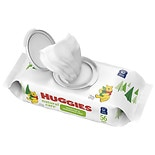 Huggies Natural Care Baby Wipes, Disposable Soft Pack, Fragrance-free, Alcohol-free, Hypoallergenic Fragrance Free