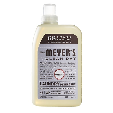 Mrs. Meyer's Clean Day Laundry Detergent, 68 Loads Lavender