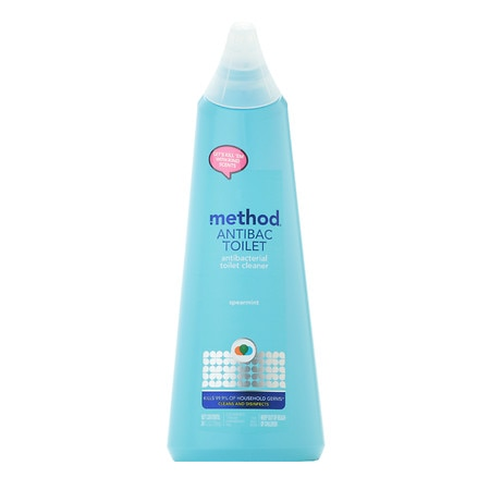 Method Antibacterial Toilet Bowl Cleaner Spearmint - 24 fl oz