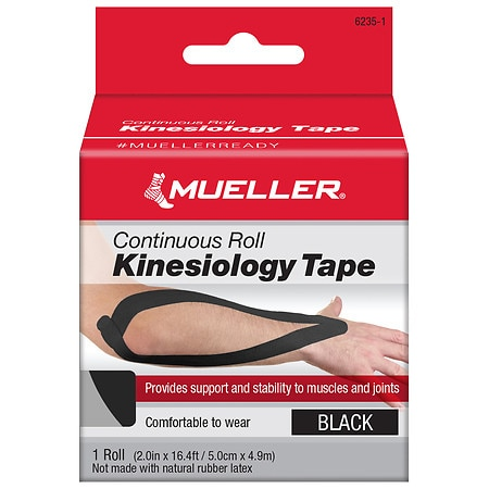 Mueller Kinesiology Tape, Continuous Roll - 1 ea