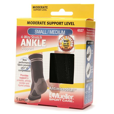 Mueller Sport Care 4-Way Stretch Ankle Support,